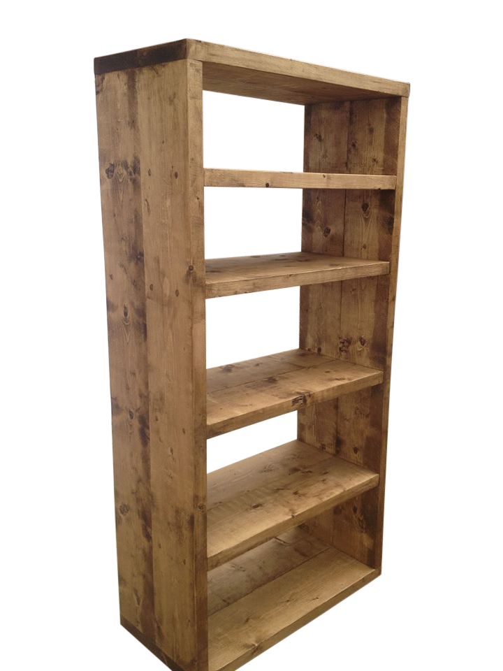 The Tall Rustic Bookcase ‹� Ely Rustic Furniture