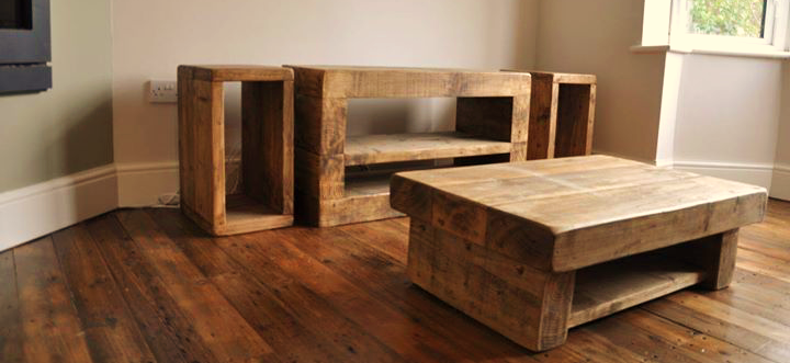 The Kubo Lounge Furniture Set Ely Rustic Furniture