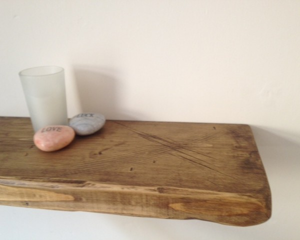 Rustic Floating Shelves - Ely Rustic Furniture