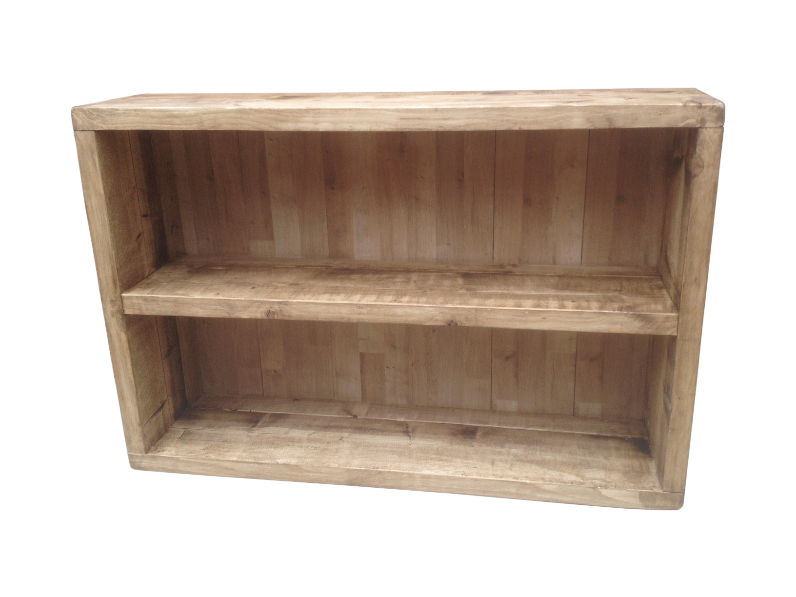 The Low Rustic Bookcase