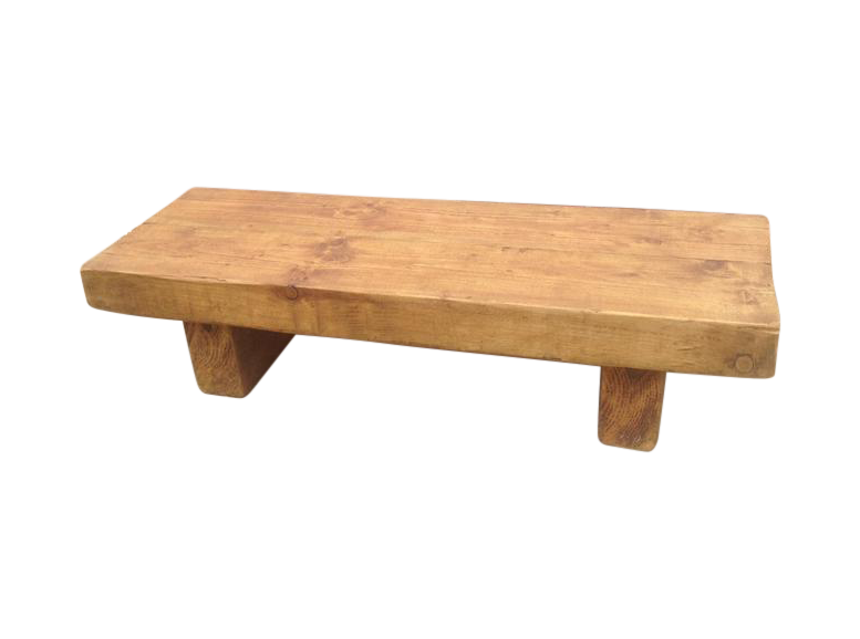 Strange The Rustic Beam Bench Coffee Table Gmtry Best Dining Table And Chair Ideas Images Gmtryco