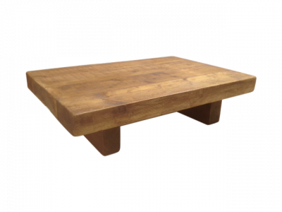 The Johnson Chunky Coffee Table Ely Rustic Furniture