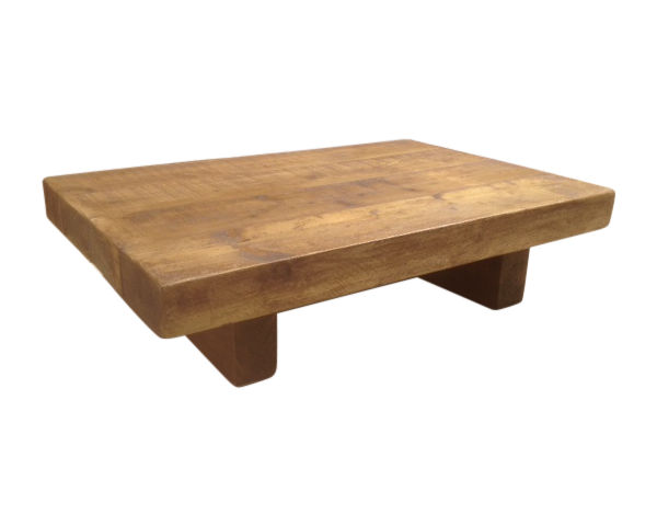 The 3ft X 3ft Chunky Rustic Coffee Table