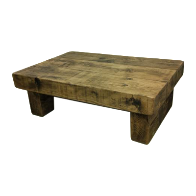 The 3ft x 2ft chunky rustic coffee table ely rustic for X coffee tables