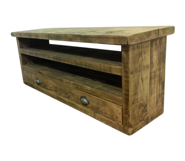 the merlin tv unit ely rustic furniture