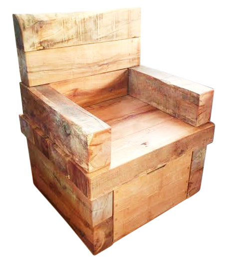 The Rustic Sleeper Chair Ely Rustic Furniture