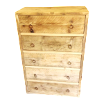 Lola Rustic Chest Of Drawers
