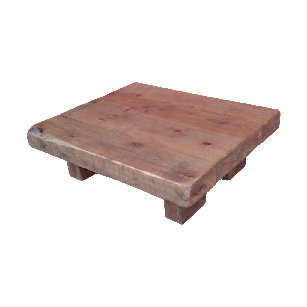 Chunky Rustic Coffee Table 4 X 4