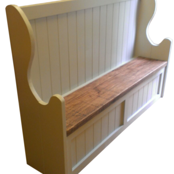 Attirant The Farmhouse Storage Bench