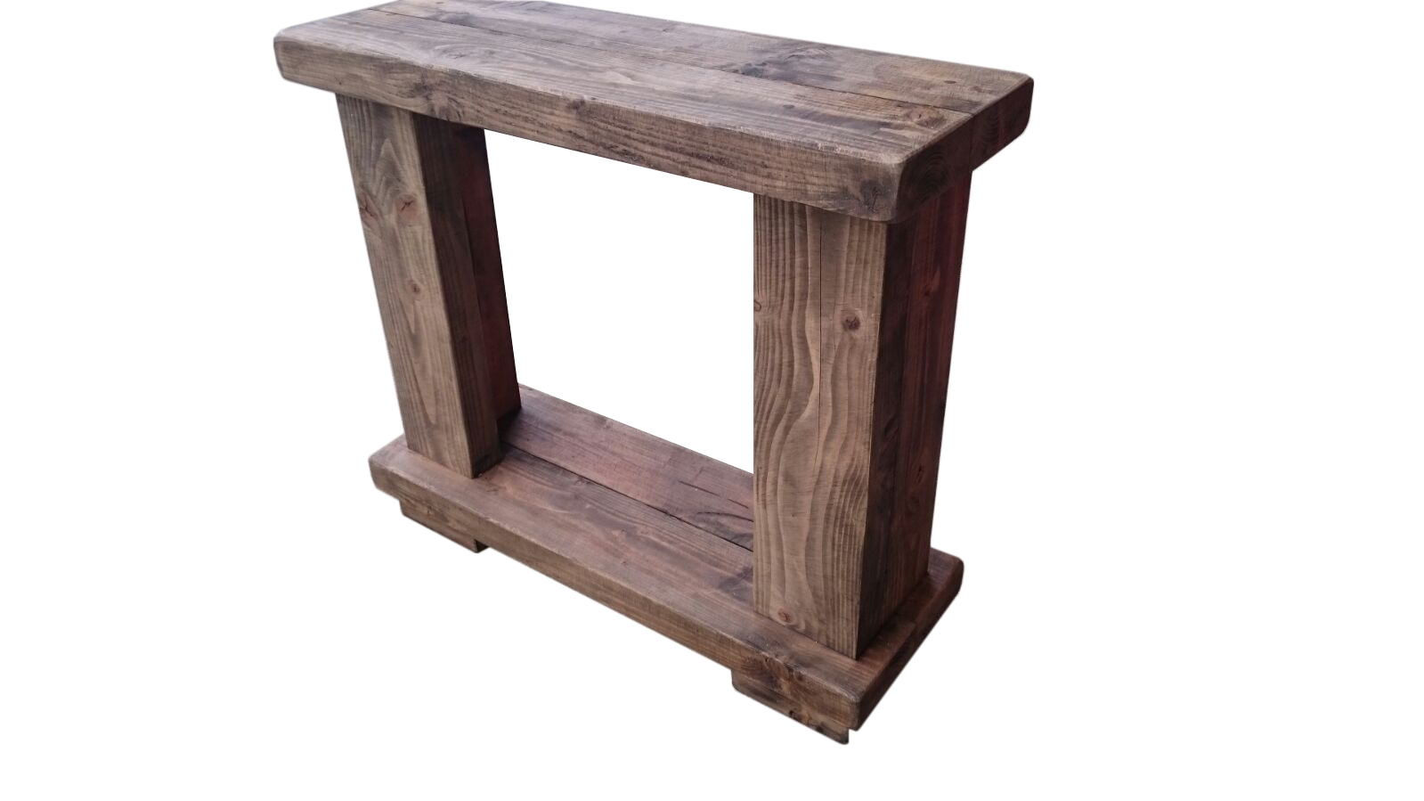 The rustic fire surround ely rustic furniture for Rustic furniture