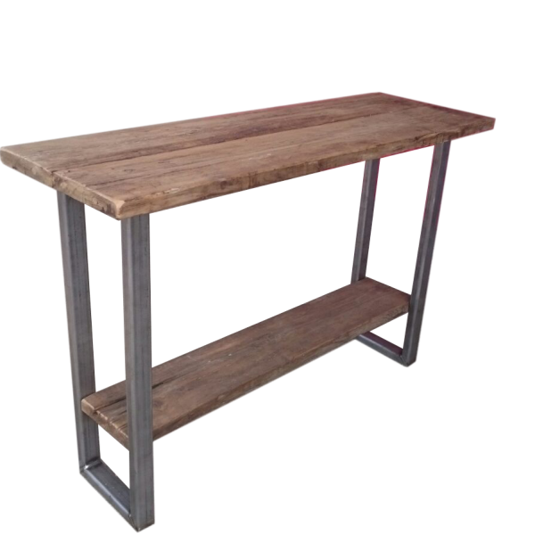 Industrial Console Table Ely Rustic Furniture