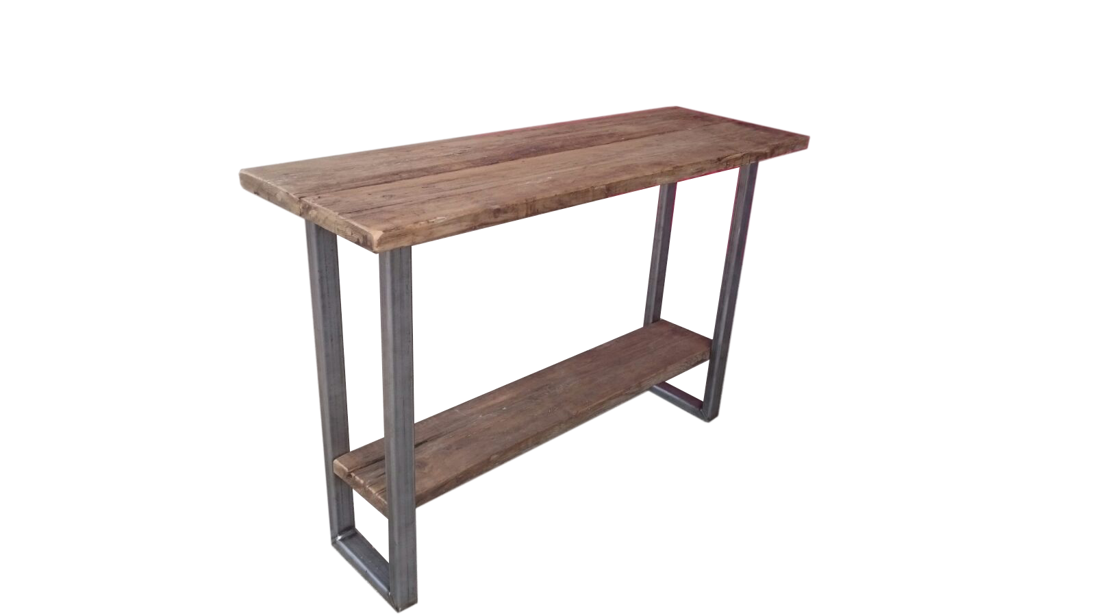 Industrial Console Table \u22c6 Ely Rustic Furniture